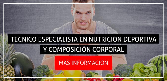 tecnico especialista nutricion deportiva composicion corporal
