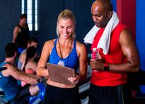 Entrenamiento gimnasio - ISAF