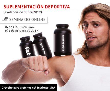 Seminario de Actualización en Suplementación Deportiva (Online)