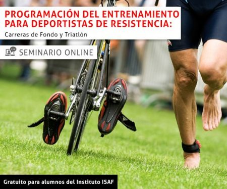 Seminario Internacional Online sobre Programación del Entrenamiento para Deportistas de Resistencia: Carreras de Fondo y Triatlón