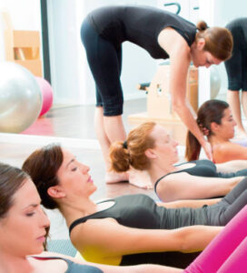 Instructor pilates - ISAF
