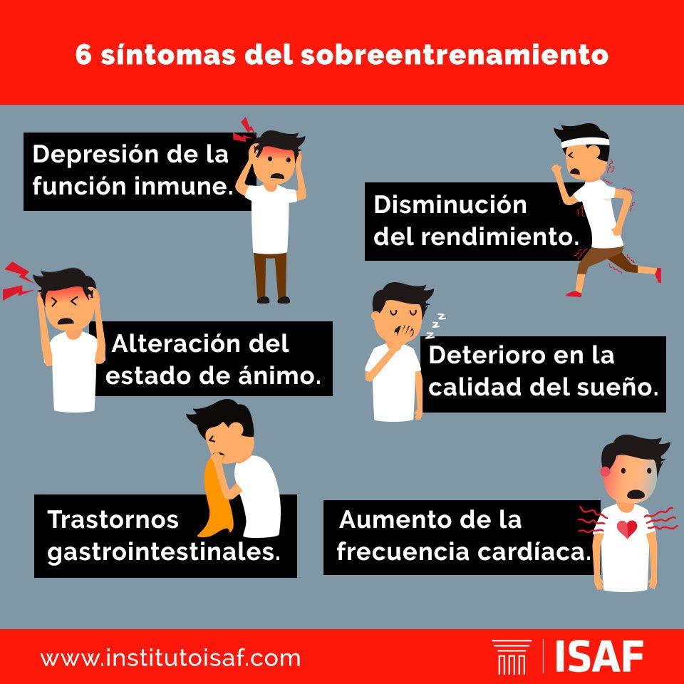 causas sobreentrenamiento - isaf