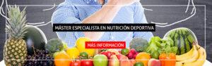 MÁSTER ESPECIALISTA EN NUTRICIÓN DEPORTIVA - ISAF