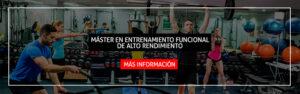 banner master entrenamiento funcional alto rendimiento - isaf