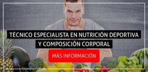 banner tecnico especialista nutricion deportiva composicion corporal - isaf
