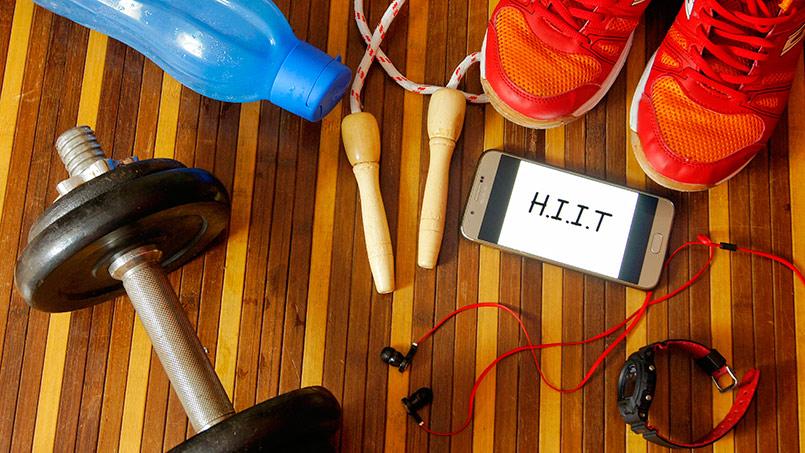 entrenamiento intervalico alta intensidad hiit - isaf