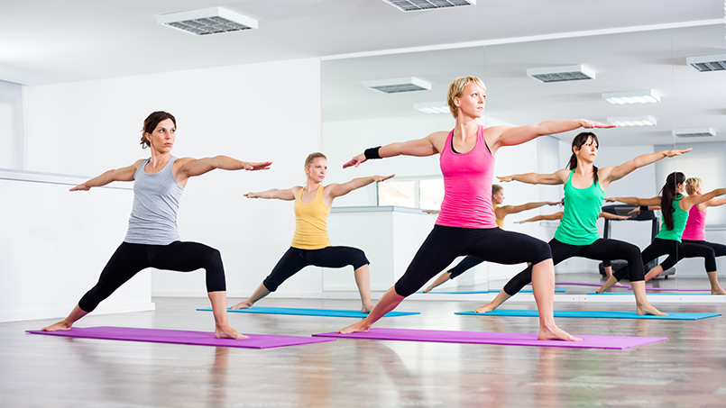 yoga o pilates - isaf