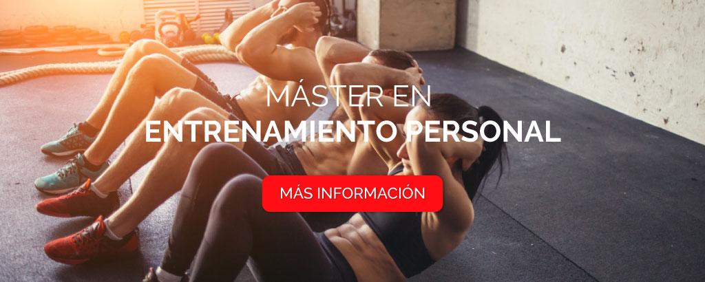 master entrenamiento personal