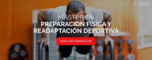 Máster en Preparación Física y Readaptación Deportiva