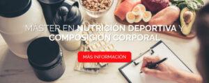 Máster en Nutrición Deportiva y Composición Corporal