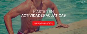 máster actividades acuáticas