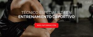 Curso Técnico Especialista Entrenamiento Deportivo