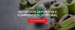 Máster en Nutrición Deportiva