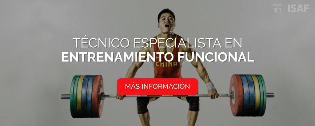 Técnico entrenamiento funcional