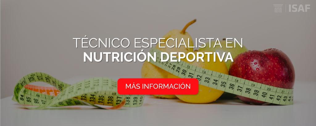 técnico nutrición deportiva