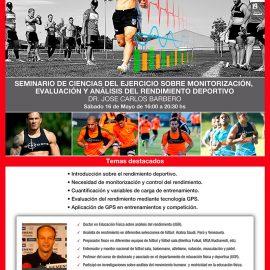 Seminario de ciencias del ejercicio sobre monitorización, evaluación y análisis del rendimiento deportivo