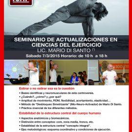 Seminario de actualizaciones en ciencias del ejercicio