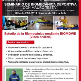 Seminario de biomecánica deportiva