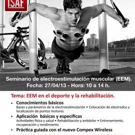 Seminario de electroestimulación muscular (EEM)