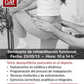 Seminario de rehabilitación funcional