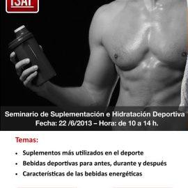 Seminario de suplementación e hidratación deportiva